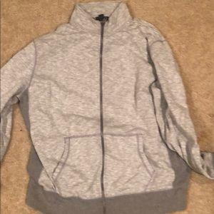 Gray gap hoodie